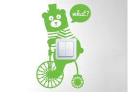 Αρκούδα με ποδήλατο
