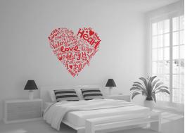 love, αγάπη, καρδιά, λέξεις