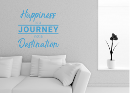 happiness is, wall decal, vinyl