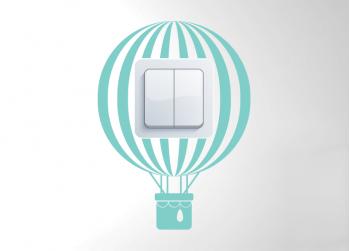 Αερόστατο, Hot air balloon