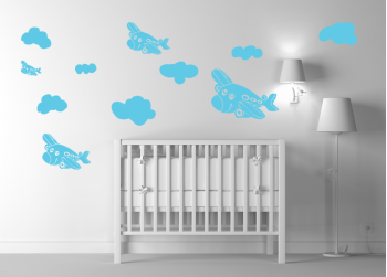 Αεροπλανάκια και σύννεφα