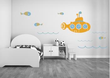 Υποβρύχιο και ψαράκια