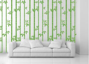 δέντρο μπαμπού με φύλλα