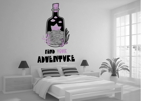 Find your adventure wall decal