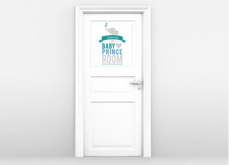 παιδικό δωμάτιο, πρίγκιπας, πόρτα δωματίου